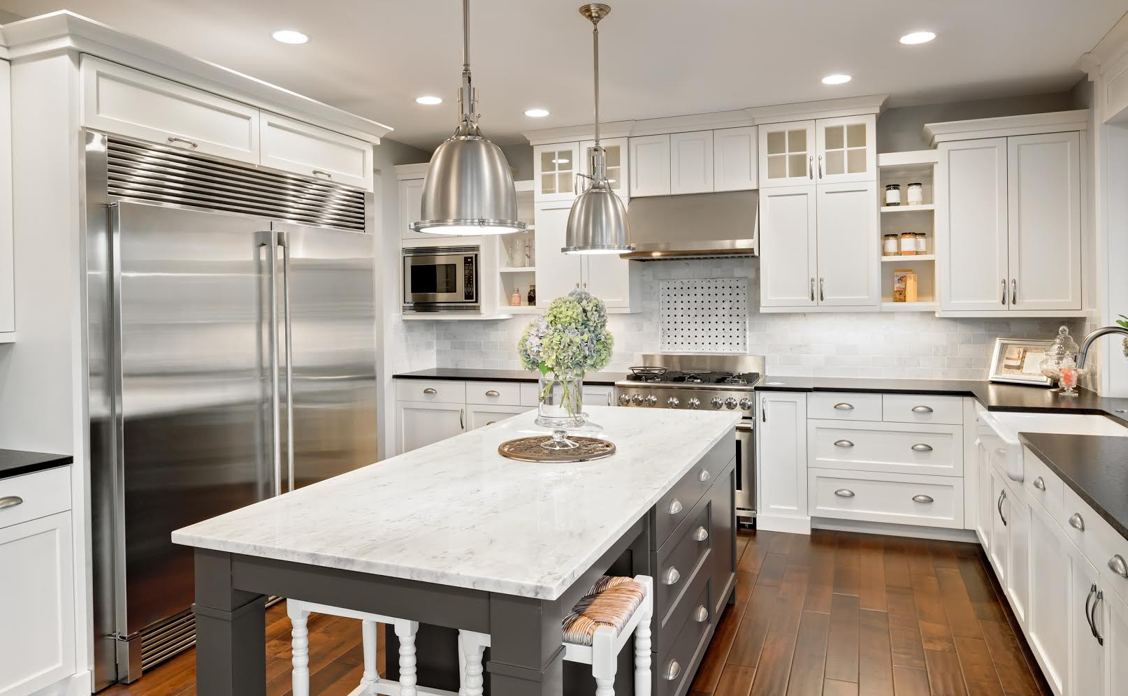 Elegant Custom Kitchen Designs